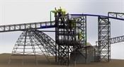 Conveyors Tower for Dead Sea Works Ltd.